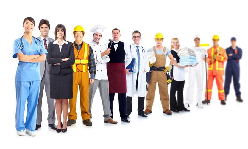 Изображения людей разных профессий